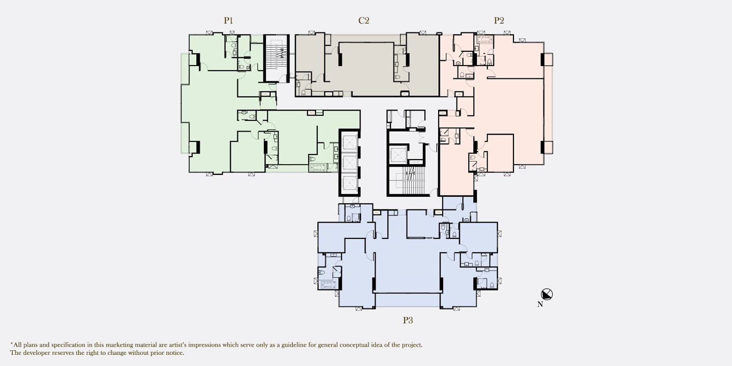 The Parco floor plan